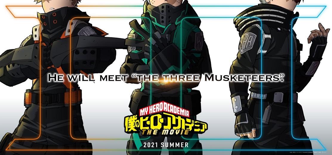 Boku no Hero Academia 3. Film izle