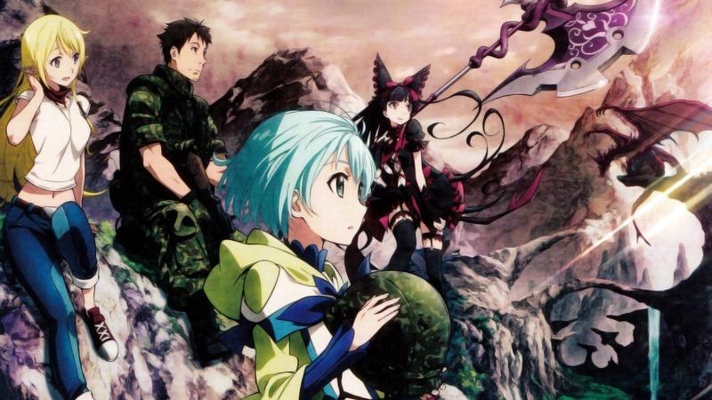 Gate: Jieitai Kanochi nite, Kaku Tatakaeri, Isekai Türünde Anime Önerileri
