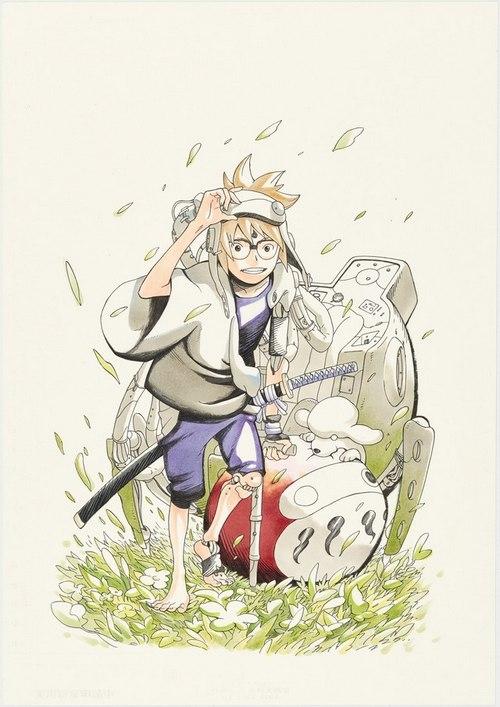 Masashi Kishimoto ve Asistanının Yeni Mangasına İlk Bakış