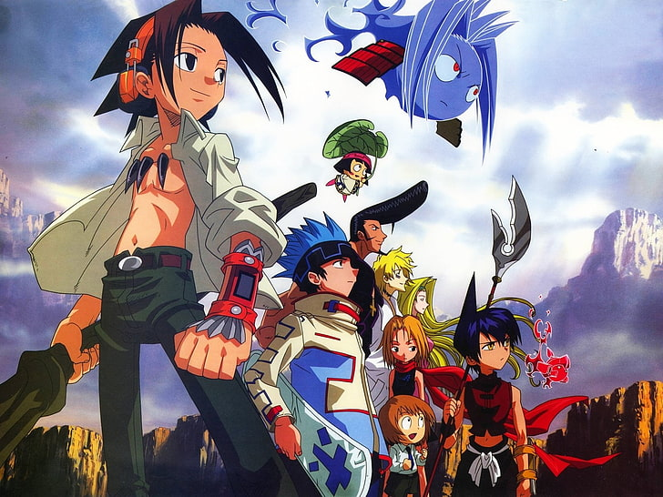 Shaman King 2021 anime serisi