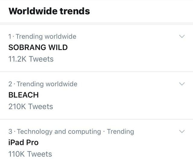 bleach trend