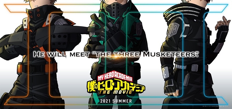 Boku no Hero Academia Serisine 3. Anime Filmi