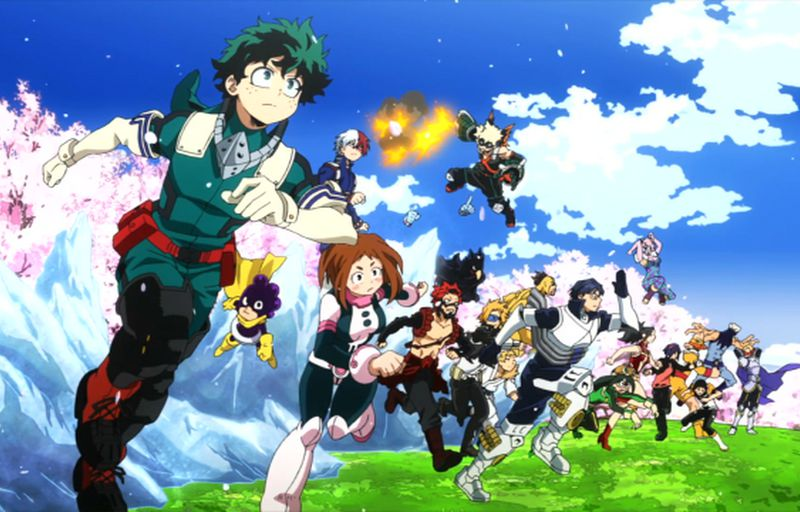 Boku no Hero Academia 4.Sezon