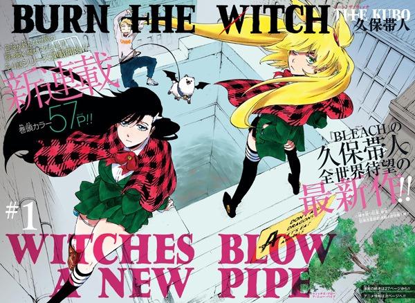 Burn The Witch Animesinin Çıkış Tarihi ve Detayları