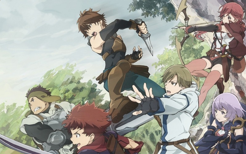 Hai To Gensou no Grimgar or Grimgar: Ashes and Illusions, Isekai Türünde Anime Önerileri