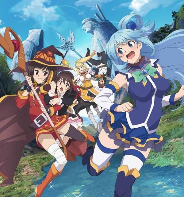 KonoSuba Anime Filminin Yeni Tanıtım Videosu