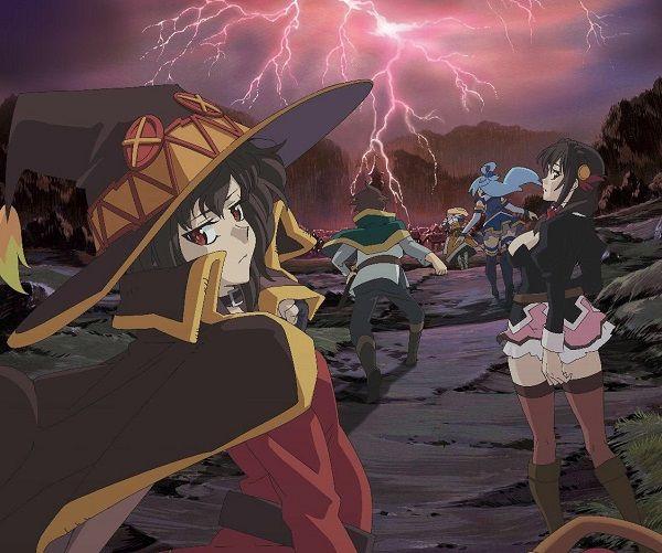 KonoSuba Anime Filminin Tanıtım Videosu