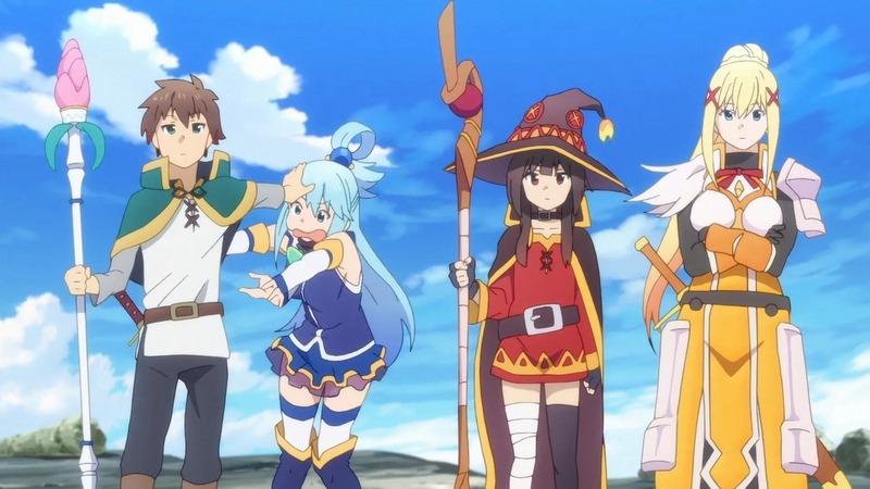 Kono Subarashii Sekai ni Shukufuku wo! Isekai Türünde Anime Önerileri