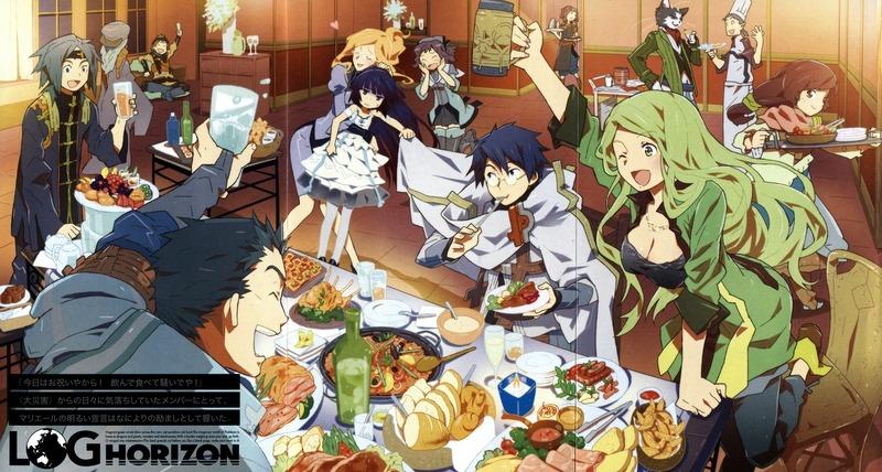 Log Horizon, Isekai Türünde Anime Önerileri