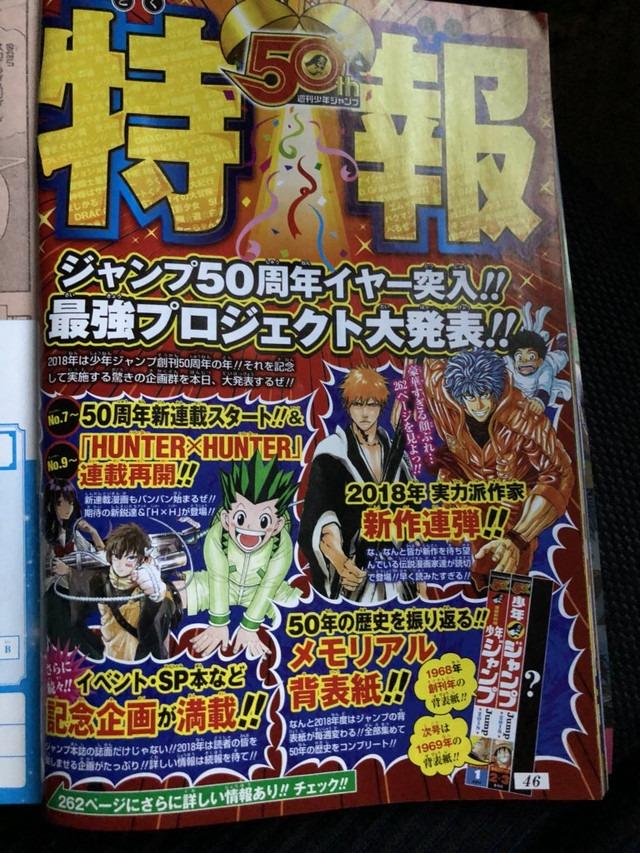 Tite Kubo ve Daha Fazlası One-Shot Manga İçin Jump'a Dönüyor