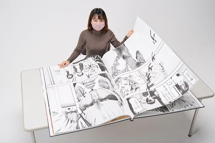 ''Dev'' Boyutundaki Shingeki no Kyojin Mangası