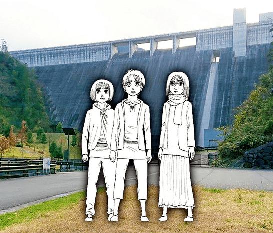 Shingeki no Kyojin Karakterlerinin Heykelleri İnşa Ediliyor