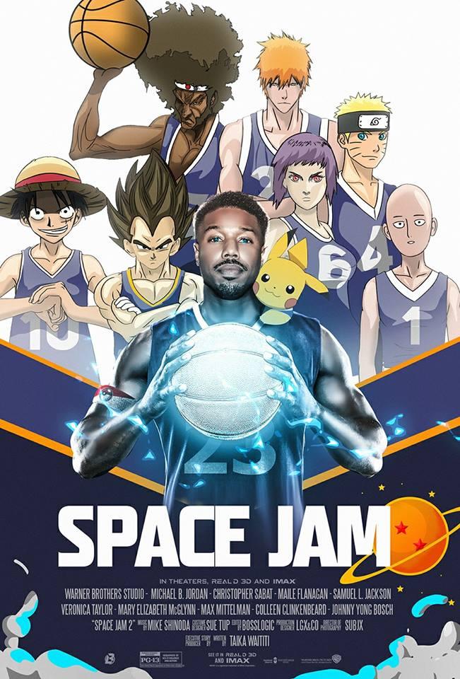 Space Jam'in Yeni Anime Versiyonunda Michael B. Jordan İsteniyor