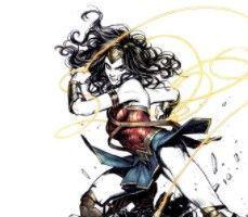 En İyi Japon Mangakalardan Wonder Woman Çizimleri